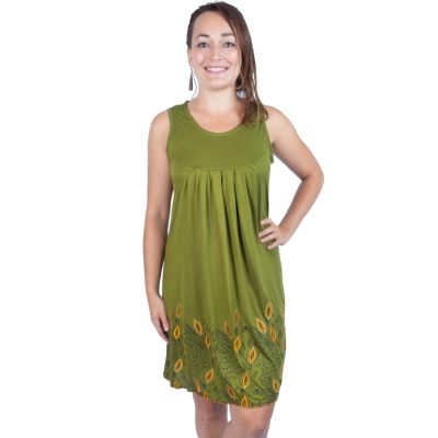 Dress Binsa Green