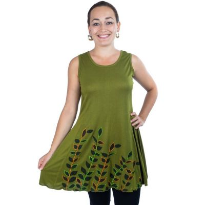 Dress Gopala Green