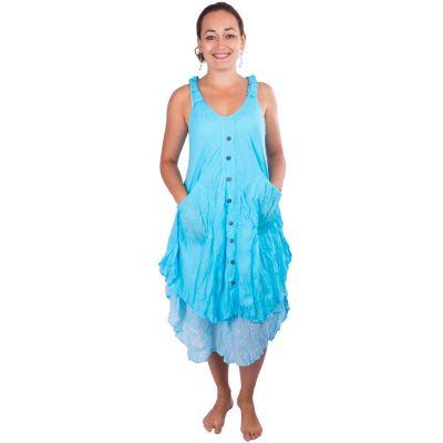Dress Nittaya Cyan
