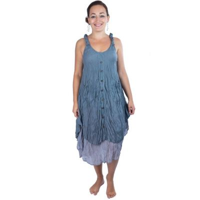 Dress Nittaya Ocean Grey