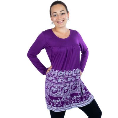 Dress / Tunic Top Myra Purple