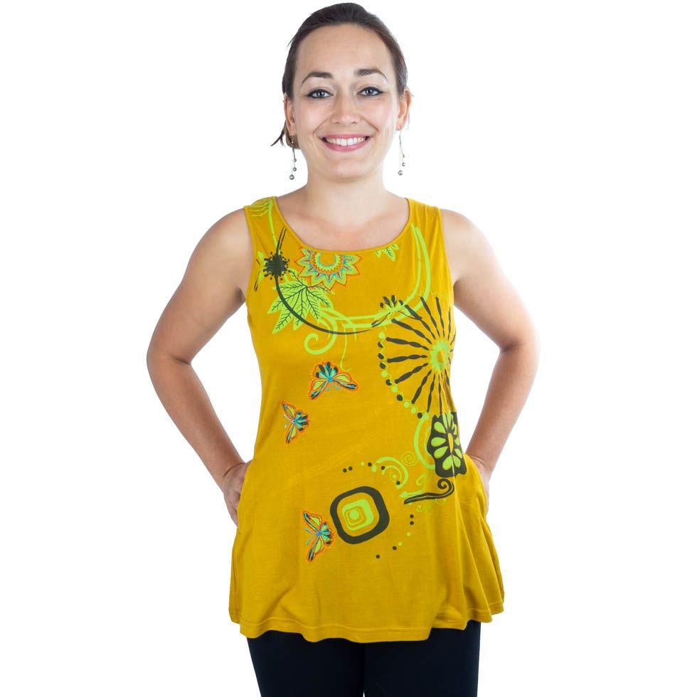 Top Banou Yellow