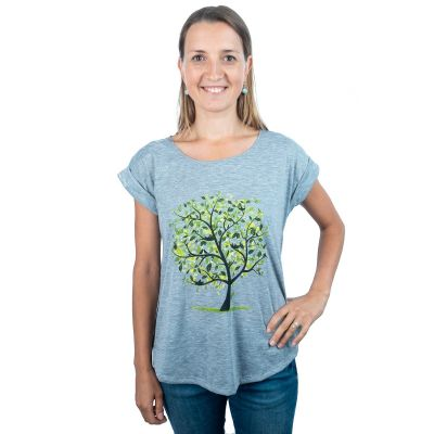 T-shirt Darika Meadow Tree Grey