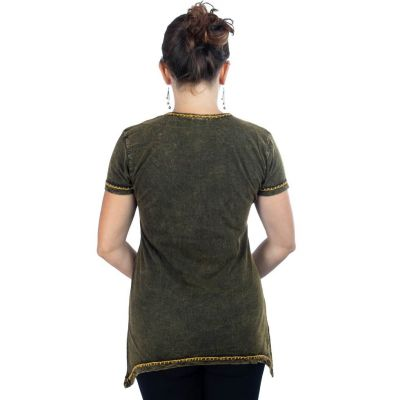 Women's t-shirt with short sleeves Ehani Kuning