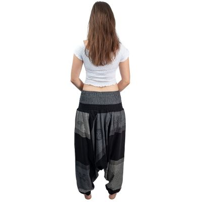 Alibaba trousers - Telur Gelap