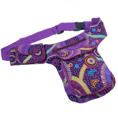 Money belt Evren Purple