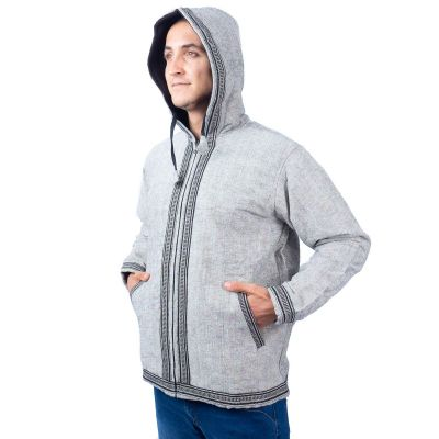 Men's ethnic jacket Azimat Kelabu Nepal