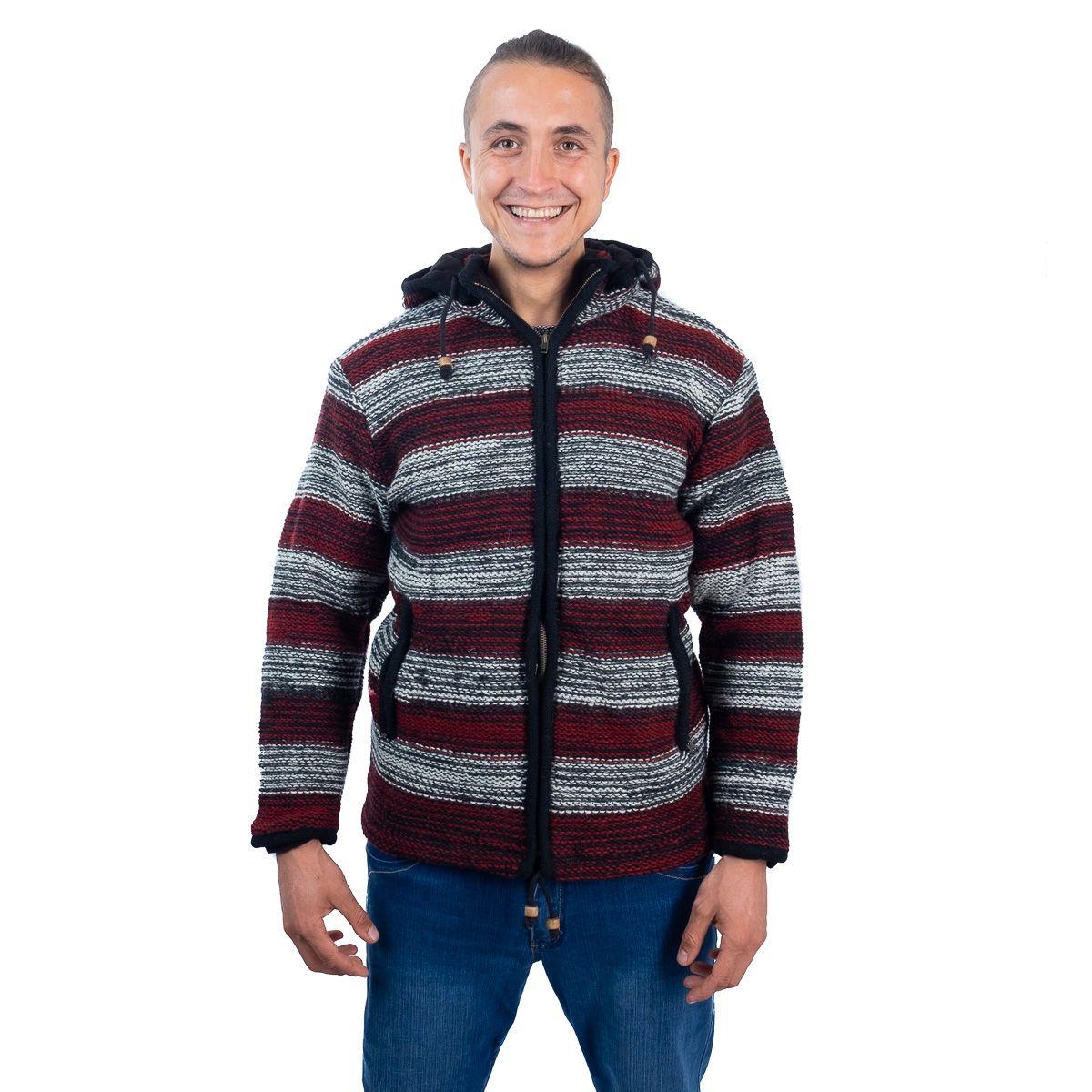 Woollen sweater Misty Horizon Nepal