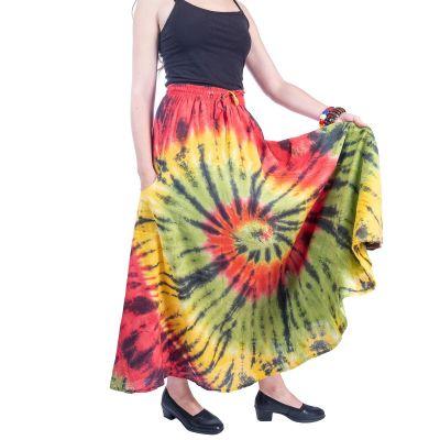 Tie-dye skirt Sejun Cheerful