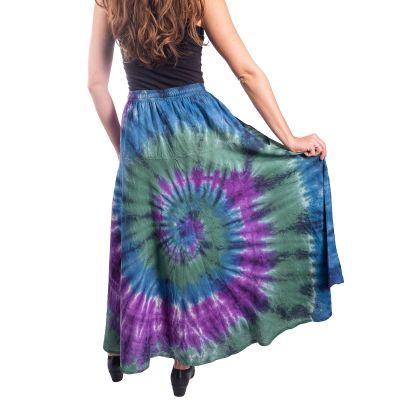 Long tie-dye ethno skirt Sejun Winsome Nepal