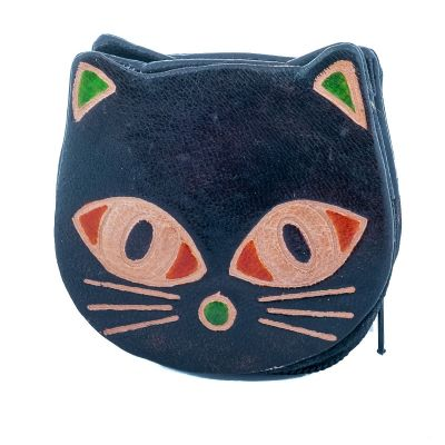 Wallet Kitty - black