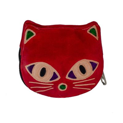 Wallet Kitty - red