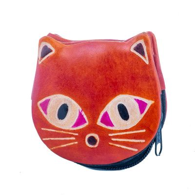 Wallet Kitty - orange