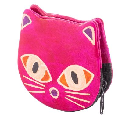 Wallet Kitty - pink
