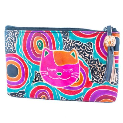 Wallet Cat - black