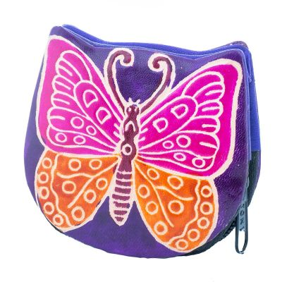 Wallet Butterfly - purple