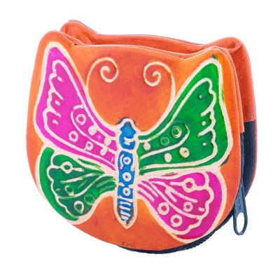 Wallet Butterfly - orange