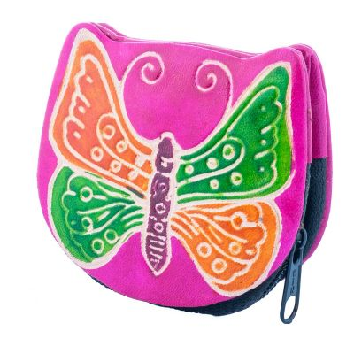 Wallet Butterfly - pink