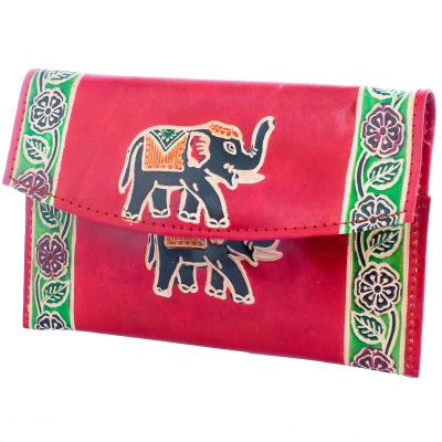 Wallet Elephant 3in1 - burgundy