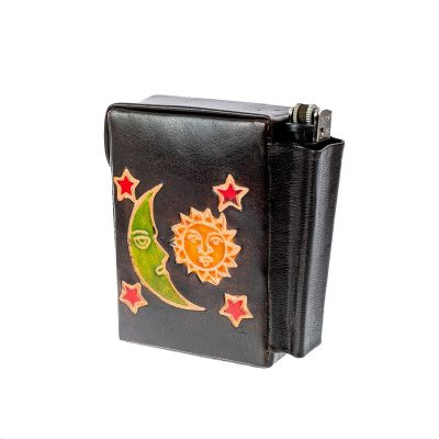 Cigarette case Night and Day - black