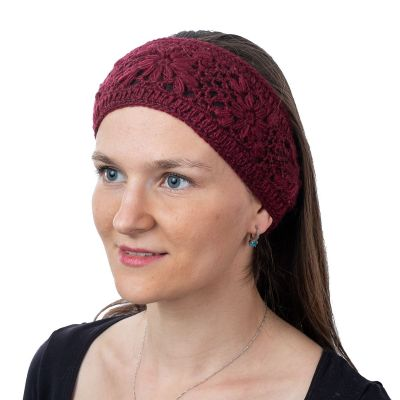 Hairband Bardia Burgundy