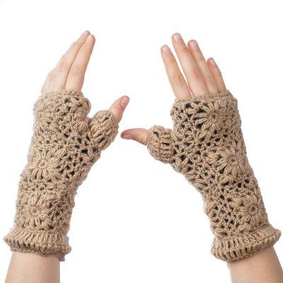 Hand warmers Bardia Beige
