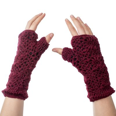 Hand warmers Bardia Burgundy