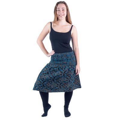 Acrylic midi skirt Omala Lapis India