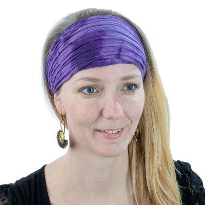 Headband Noda Ungu