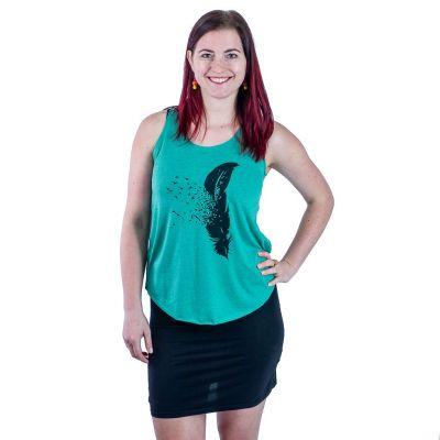 Tank top Darika Feather Dark Green