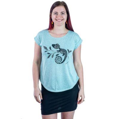 Tričko Darika Chameleon Greenish