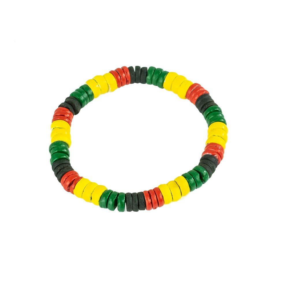Bead bracelet Rasta Periang