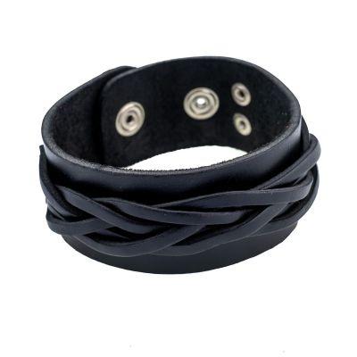 Bracelet Anyaman Black