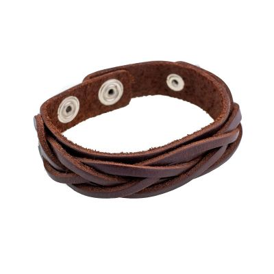 Bracelet Anyaman Kecil Brown