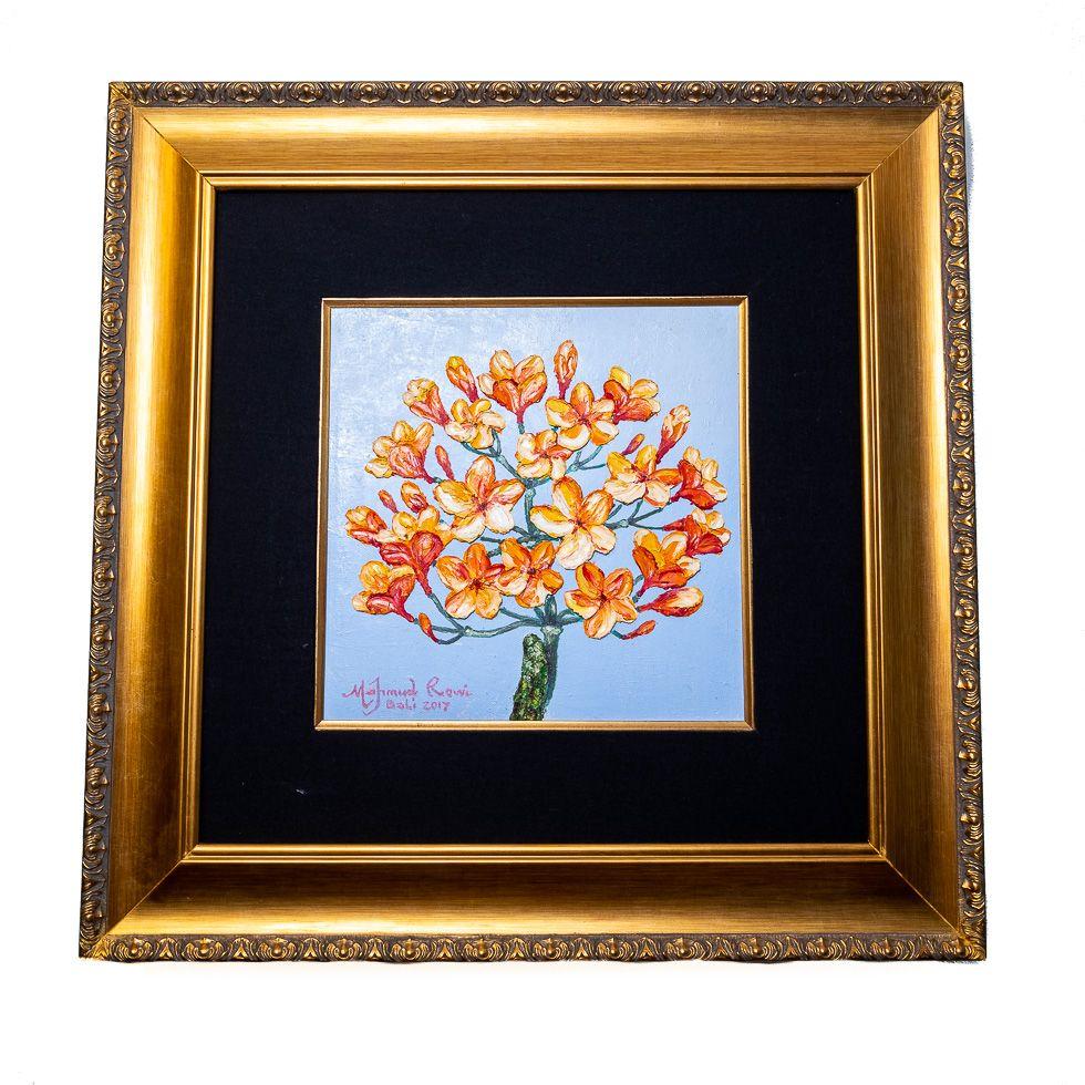 Painting Orange Tree