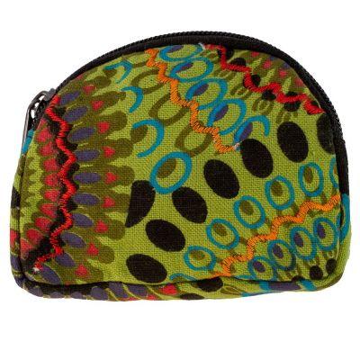 Coin purse / wallet Sundar Hijau