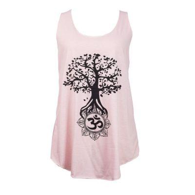 Tank top Darika Bodhi Tree Pinkish