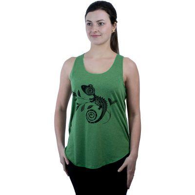 Tank top Darika Chameleon Green