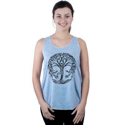 Tank top Darika Yoga Tree Bluish