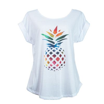 T-shirt Darika Pineapple