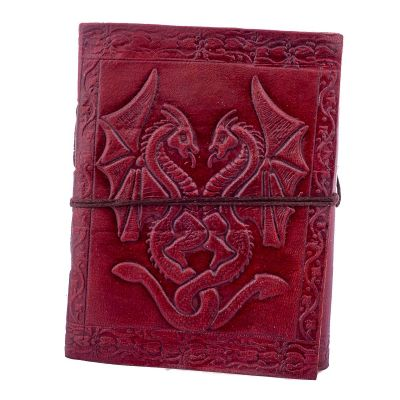 Leather notebook Dragons India