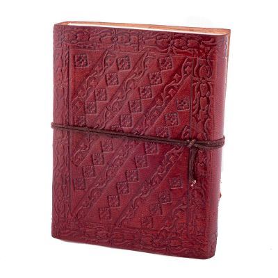 Leather notebook Peacock India