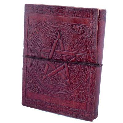 Leather notebook Pentagram India