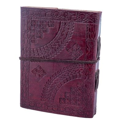 Leather notebook Triquetra India