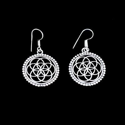 German silver earrings Lina 1