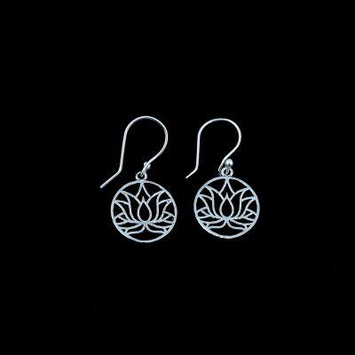 Earrings Lotus 1