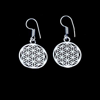 German silver earrings Madhavi