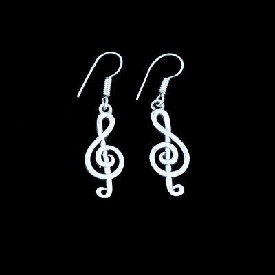 Earrings Treble Clef 1