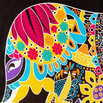 Sarong / pareo Elephant yellow Thailand