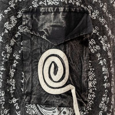Cotton sultan trousers Amir Hitam Nepal